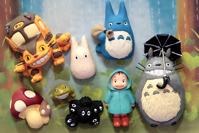 Lovely Totoro Magnets