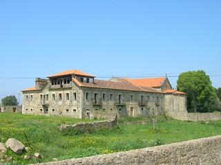 Image of Mosteiro de Longos Vales. portugal san iglesia dos igreja convento sao alto monasterio joao romanico mosteiro minho longos moncao monçao vales