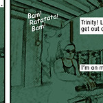 Matrix - comic-strip