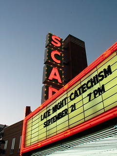 Late Night Catechism Marquee @ Trustees Theater