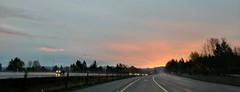 I-90 sunrise