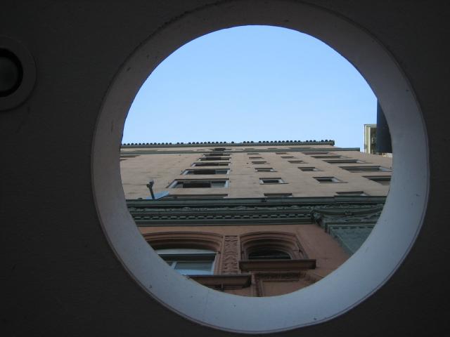 Porthole to the sky