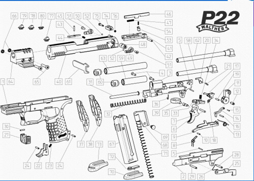 DIAGRAM] Walther P22 Parts Diagram FULL Version HD Quality Parts