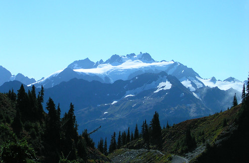 Mount Olympus from High Divide