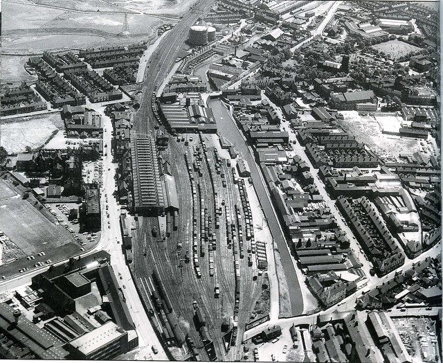 Stoke aerial photo 6th July 1961