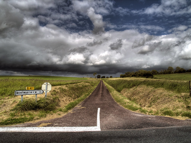 0327 Road to Montmartin-Sur-Mer