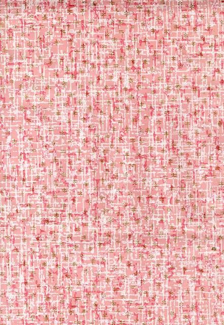 1960s vintage pink wallpaper