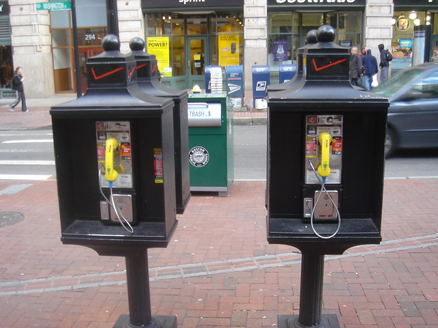 Boston Payphones