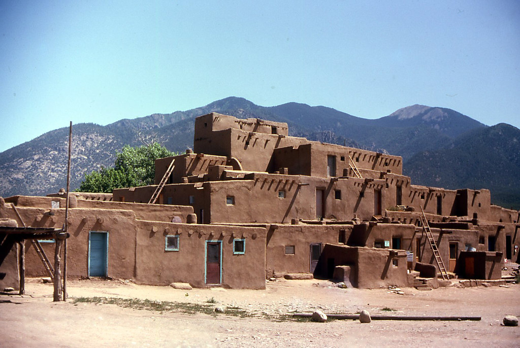 35 magical photos of taos pueblo new mexico places for Adobe home builders texas
