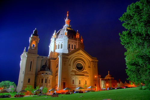 Oakdale (MN) United States  city photos : minnesota night cathedral spotlight twincities saintpaul hdr