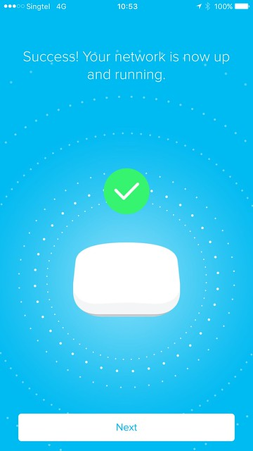 eero iOS App - Setup - #11