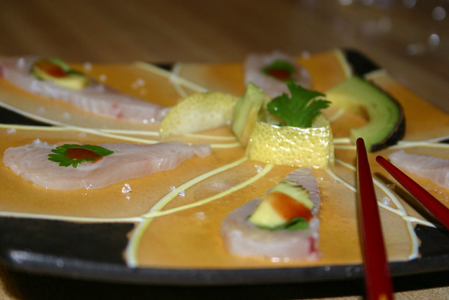 wahoo-avocado-sashimi | Flickr - Photo Sharing!