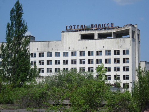 , Abandoned building – Prypiat, My Chernobyl Blog, My Chernobyl Blog