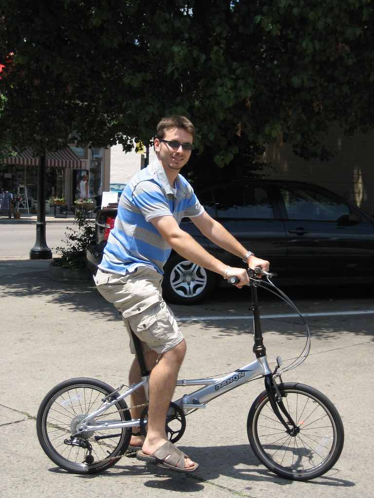 Dahon bike from Reser Bicycle Outfitters in Newport