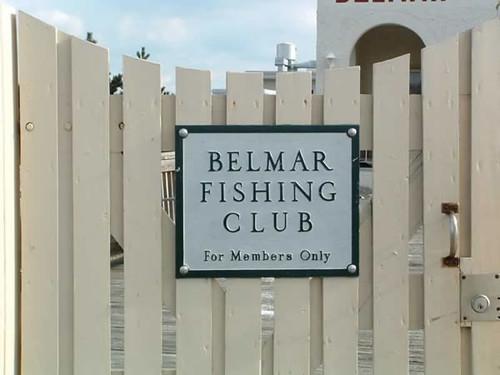 Belmar Fishing Club Sign Flickr Photo Sharing