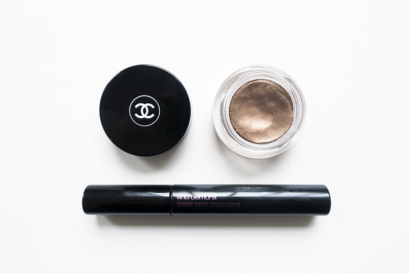 Summer Eyes with Chanel and Shu Uemura