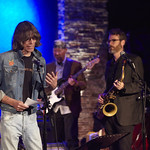 Wed, 10/06/2015 - 1:27pm - David Fricke opens with the 3 Essential Commandments - Celebrating the career of New York free-form DJ Vin Scelsa, 6/8/15 at City Winery in NYC. Photo by Gus Philippas