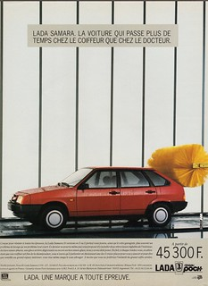 1989 Lada Samara 1500 Ad (France)
