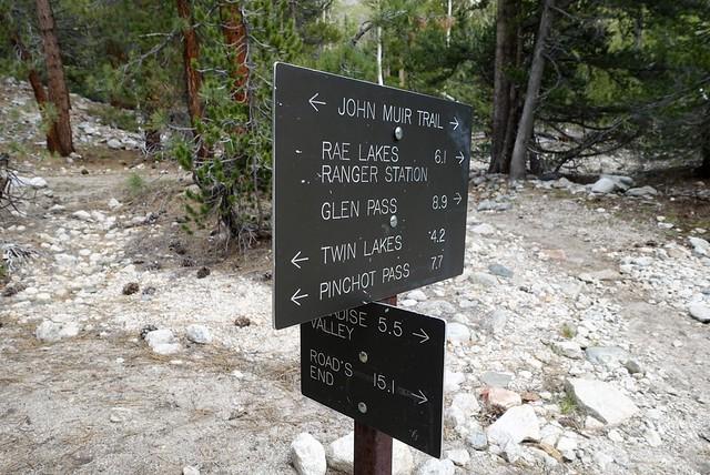 Trail junction, m799