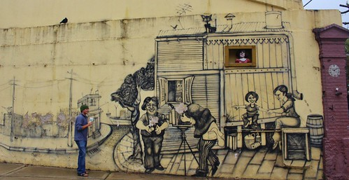 There is some amazing street art all over Buenos Aires