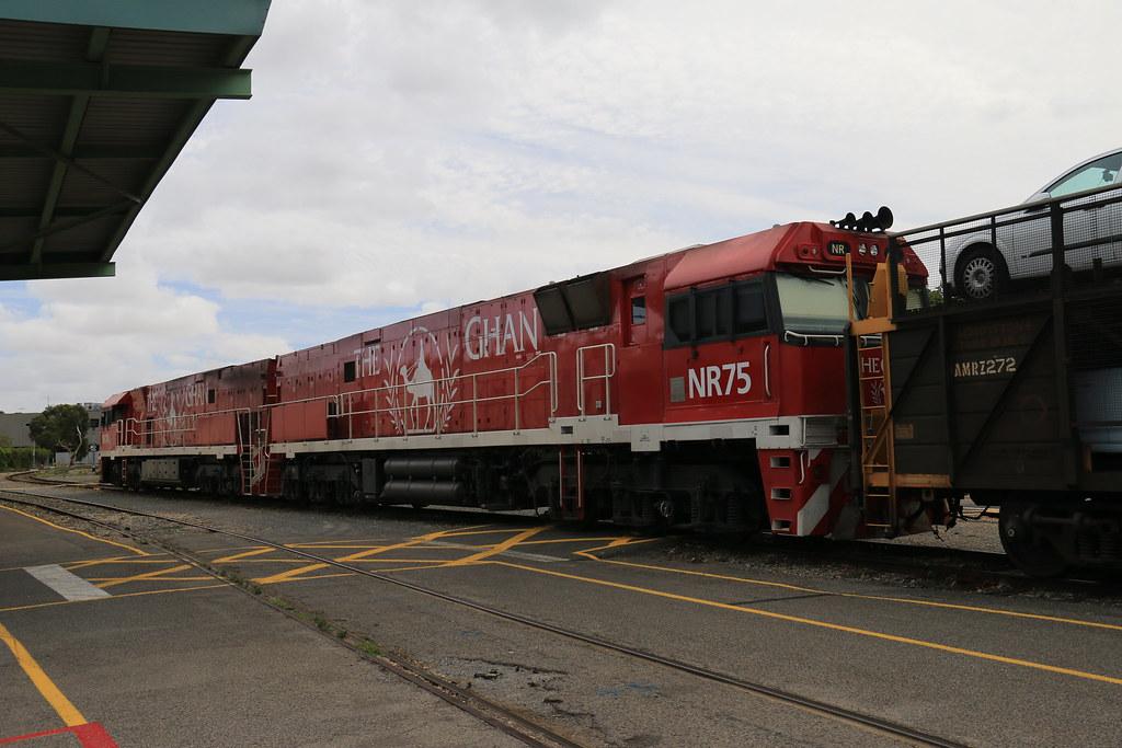 The Ghan - NR74 & NR75 by Jungle Jack