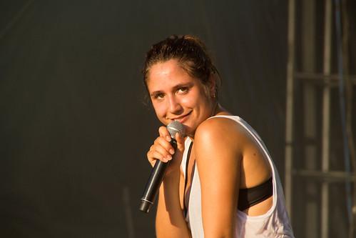 Le concert d'Izia