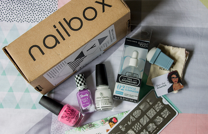 Nailbox July 2015: Tropical Treats