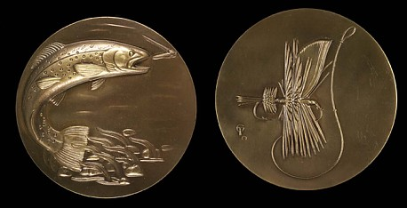 Fly Fishing medal