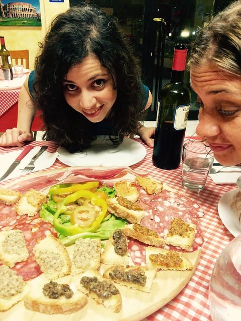Time to eat more, at Adragna in Civitavecchia
