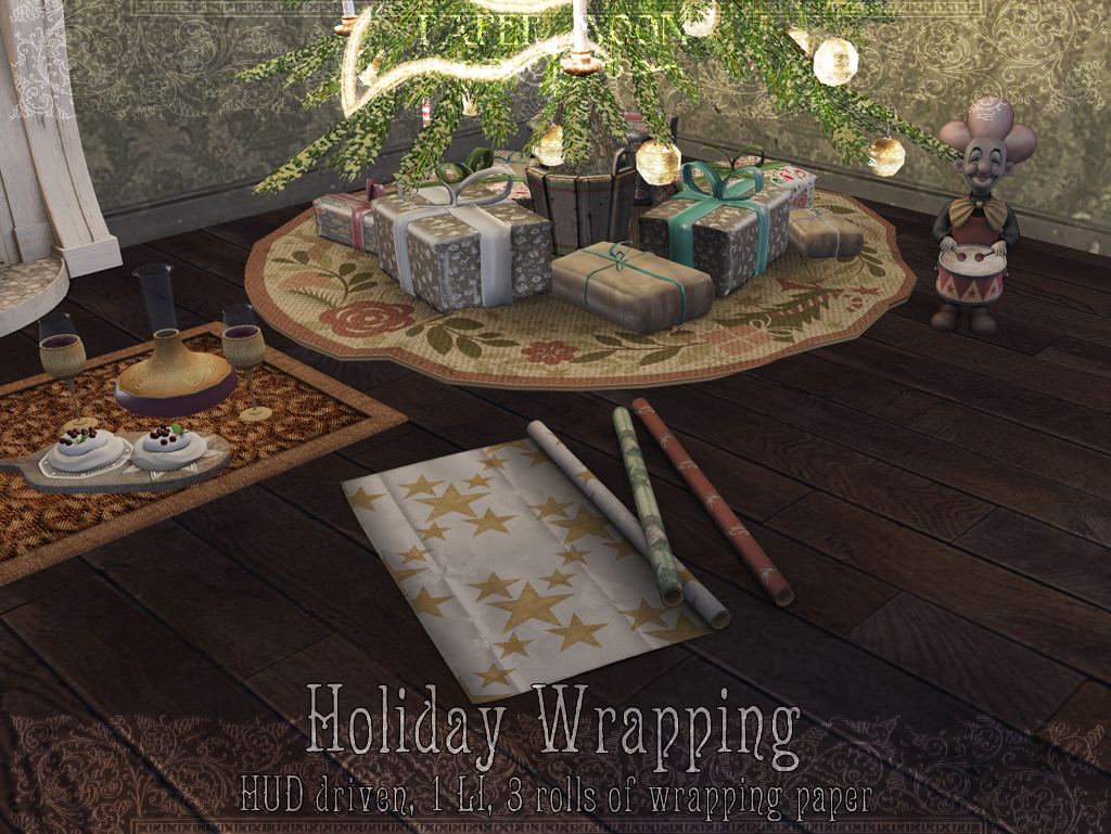 *pm* Holiday Wrapping - SecondLifeHub.com