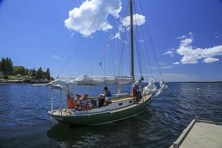 Spruce Point Inn Sailing