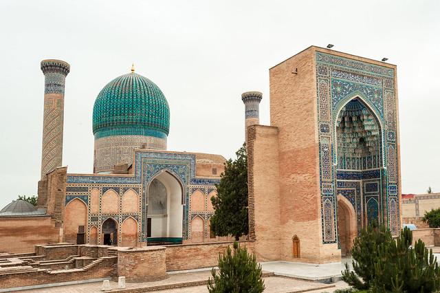 Gour Emir, mausolée de Tamerlan, Samarcande, Ouzbékistan