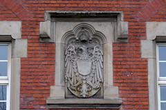 Königlich Preußischer Adler am Gebäude des Amtsgerichts Völklingen