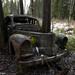 Abandoned car by lortopalt