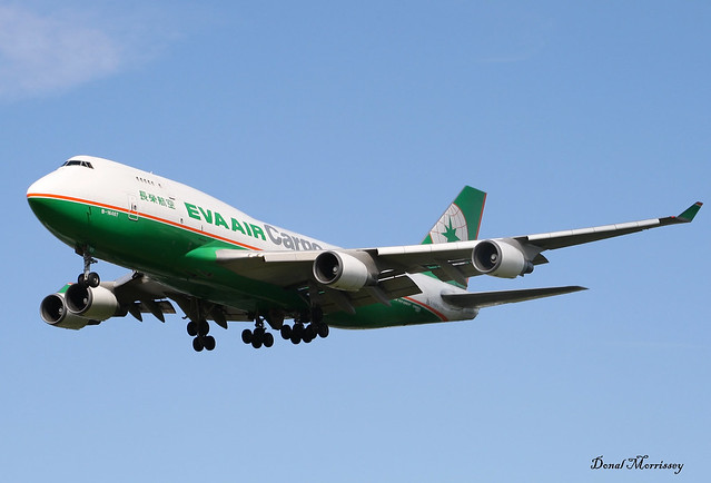 EVA Air Cargo 747-400(F) B-16407
