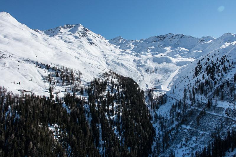 Luftaufnahmen Skigebiet See