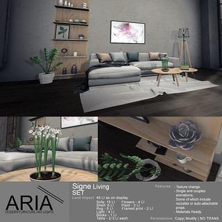 [ARIA] Signe Living Set @ FaMESHed!