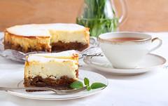 Spiced fig and orange cheesecake