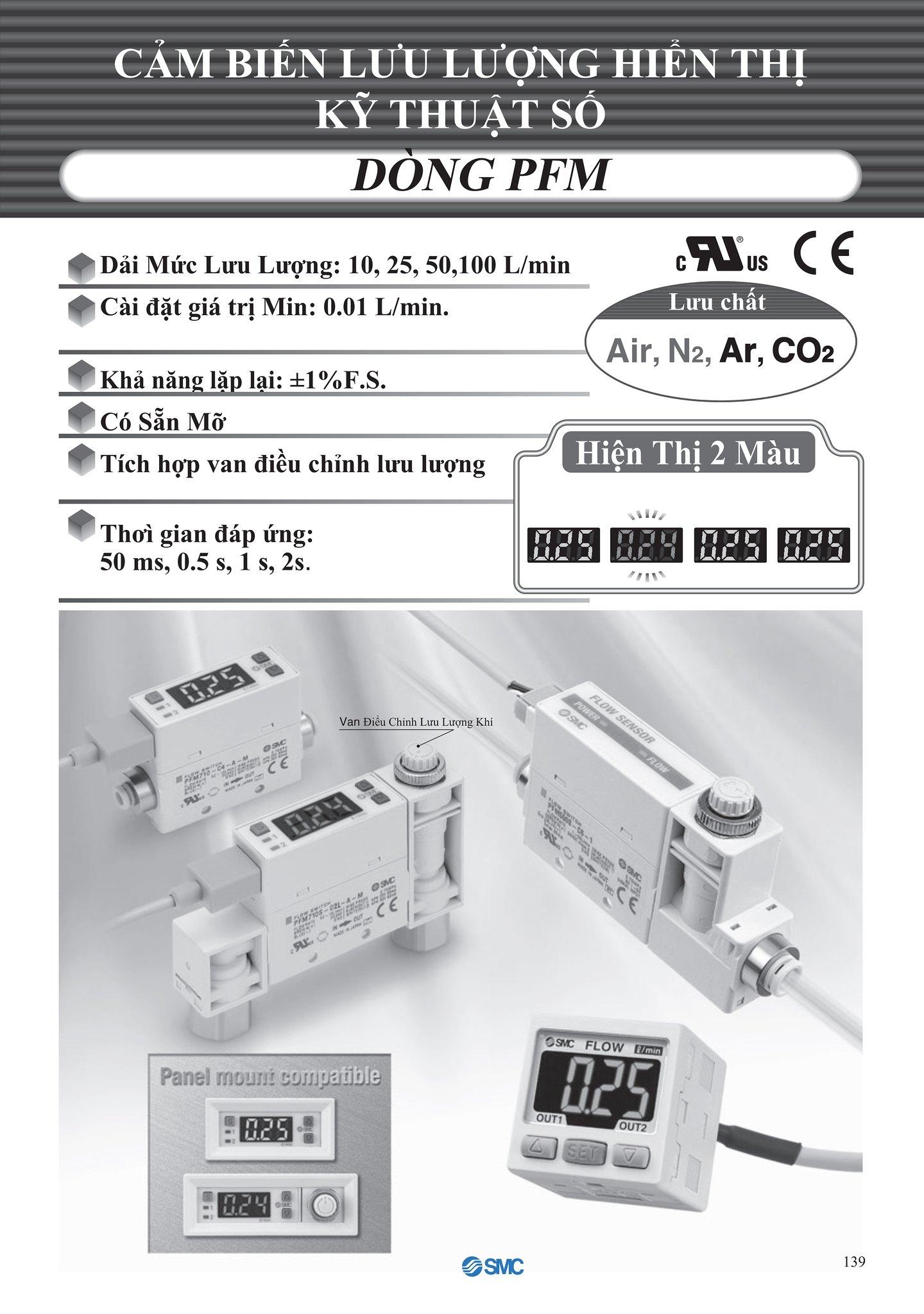 thông tin cảm biến áp suất SMC