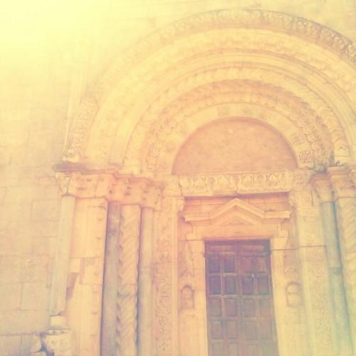 #particolare #chiesa #facciata #santasabina