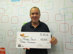 Henry Sells - $3,000 Hot Lotto Sizzler