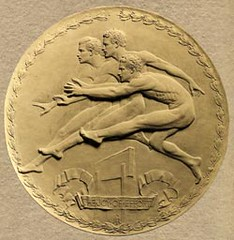 Joy-of-Effort-Original-1912-Design medal by R Tait McKenzie