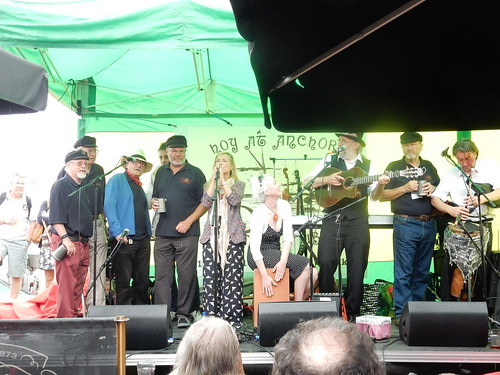 Wild Willy Barrett and friends and the Shanty Men