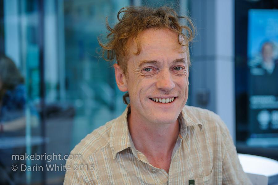 Ian Newton in DTK 006