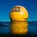 Brighton Swim Area Buoy by lomokev