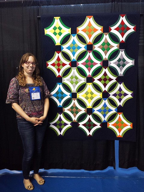 Urban Nine Patch at Quilt Canada 2015