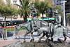 Quixotic statue, San Sabastian, Spain