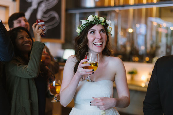 Celine Kim Photography Bellwoods Brewery intimate city wedding Toronto vintage ttc streetcar-122