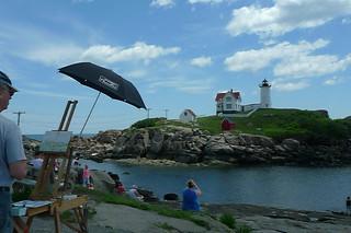 Maine - Nubble Point Nubble Light
