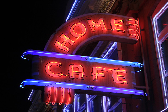 Home Cafe - Cripple Creek, Colorado U.S.A. - July 13, 2015